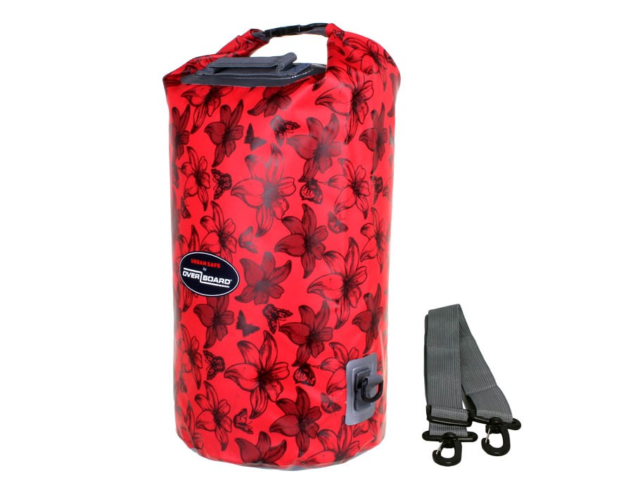 Urban Safe - 20 Litre Dry Tube: Red Flowers