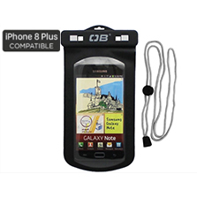 Waterproof Large Phone Case - Black