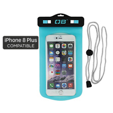 Waterproof Large Phone Case -Aqua